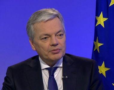 Didier Reynders, propus de Belgia pentru funcţia de comisar european pe Justiţie,...