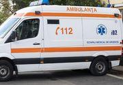 Copil în stare critică după ce a fost lovită de o mașină în timp ce se întorcea de la școală