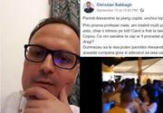 """Alexandru Cumpănașu îi răspunde lui Christian Sabbagh: Da, am dansat! Și unde e problema?"""""""