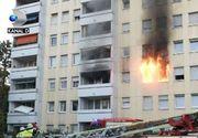Incendiu în bloc, de la o trotinetă electrică