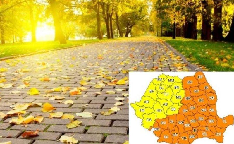 Prognoză meteo- Se reîntoarce vara? Cu cât cresc temperaturile în intervalul 23-29 septembrie