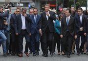 Iohannis şi-a depus oficial candidatura pentru un nou mandat de președinte. Atac dur la adresa PSD
