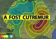 Cutremur puternic în Vrancea, vineri dimineaţă