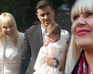 VIDEO | Imagini exclusive de la botezul fetiței Elenei Udrea