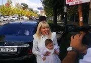 Incident la botezul fetiței Elenei Udrea! A căzut pe scări, imediat după slujbă