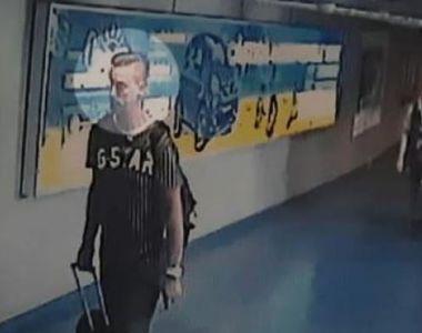 Imagini cu olandezul suspect de crimă părăsind România. Cum arăta cu două zile înainte...