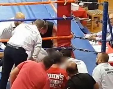 Tragedie în ring: Un boxer a murit în timpul unui meci