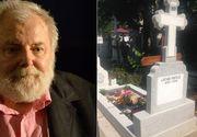 Mormântul marelui regizor Lucian Pintilie este cel mai bine îngrijit loc de veci de la Bellu FOTO