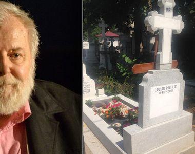 Mormântul marelui regizor Lucian Pintilie este cel mai bine îngrijit loc de veci de la...