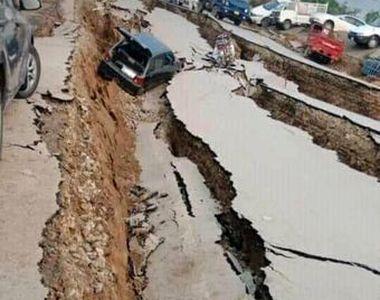 Cutremur în Pakistan: 450 de răniți și zeci de morți. Seismul a avut 5,8 grade pe scara...