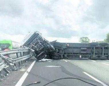 Un român din Italia implicat într-un accident de TIR