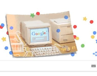Google împlinește 21 de ani.  Motorul de căutare sărbătorește printr-un Google Doodle...