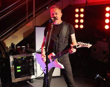 Metallica a anulat turneul din Australia şi Noua Zeelandă, după ce Hetfield a fost...