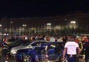 Accident de proporții în centrul Bucureștiului. Șapte mașini au fost implicate. Printre victime se află și doi copii