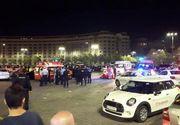 Împușcături în Piața Constituției: Un bărbat a murit - VIDEO
