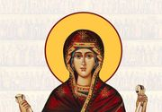 1 octombrie sărbătoare mare pentru creștinii de pretutindeni. Cruce roşie, închinată Maicii Domnului
