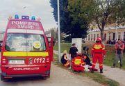 Accident de proporții - O fetiţă de opt ani a fost ucisă pe trotuar, iar alte două persoane sunt în stare gravă