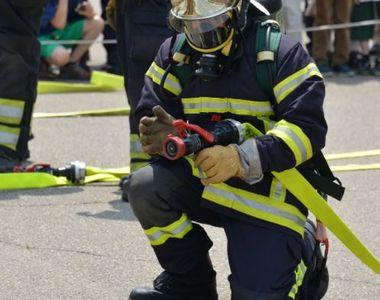 Incendiu în apropierea Ministerului de Finanțe provocat de un cetățean după o ceartă cu...