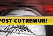Cutremur în România cu puțin timp în urmă! L-ați simțit?