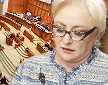 VIDEO | Ziua în care PSD a pierdut majoritatea. Scaunul Vioricăi Dăncilă se clatină tot...