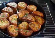 Cartofi fondanți. Nu ai mai mâncat niciodată așa ceva. Doar așa vei pregăti cina de acum înainte! Te lingi pe degete!