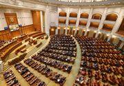 Moţiunea de cenzură împotriva Cabinetului Dăncilă, citită în plenul Parlamentului