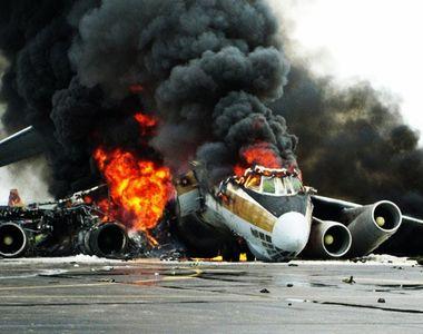 TRAGEDIE! Un avion s-a prăbușit!