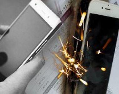 VIDEO | Pericolul din telefoanele mobile. Unele pot deveni letale