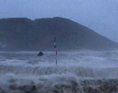 VIDEO | Uraganul Lorenzo ajunge în Irlanda