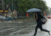 AVERTIZARE METEO de FENOMENE PERICULOASE! Ploi, vânt și frig! România, sub teroare! A venit iarna!