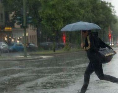 AVERTIZARE METEO de FENOMENE PERICULOASE! Ploi, vânt și frig! România, sub teroare! A...