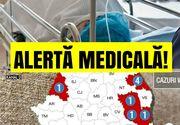 Alte 40 de cazuri nou-confirmate de rujeolă au fost raportate în ultima săptămână
