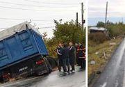Pasagerii din microbuzul implicat în accidentul din Ialomiţa erau angajaţii unui lanț de magazine din București