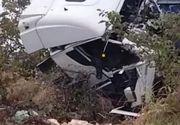 VIDEO |  Filmul accidentului din Ialomița! Ce a făcut șoferul vinovat, cu puțin timp înainte de marea tragedie în care au murit 10 oameni