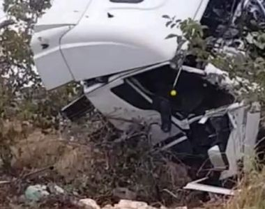 VIDEO    Filmul accidentului din Ialomița! Ce a făcut șoferul vinovat, cu puțin timp...
