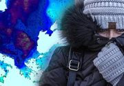 VIDEO   Vreme extrem de rece în toată țara. Zonele unde va fi iarnă în toată regula