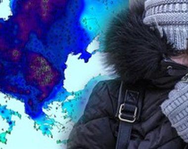 VIDEO | Vreme extrem de rece în toată țara. Zonele unde va fi iarnă în toată regula