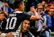 Cristiano Ronaldo prins într-o ipostază amuzantă. Vezi pe cine a pupat portughezul în timpul unui interviu
