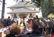 VIDEO | Durere fără sfârșit. Șapte femei care au murit în accidentul din Ialomița, înmormântate astăzi