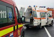 Accident în Capitală: o ambulanță SMURD a fost lovită! Membrii echipajului au avut nevoie de îngrijiri medicale