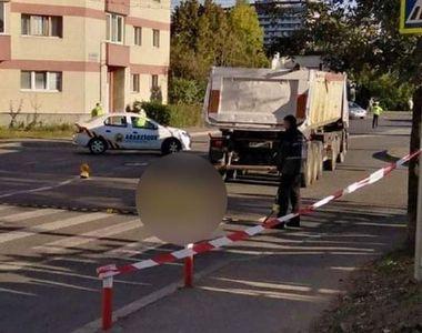 O femeie a fost lovită de camion pe o trecere de pietoni din Cluj-Napoca! A murit pe loc