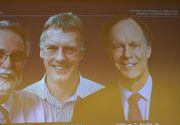 Cercetătorii William G. Kaelin Jr, Sir Peter J. Ratcliffe şi Gregg L. Semenza au câştigat Nobelul pentru Medicină