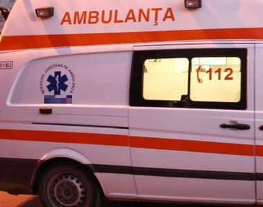 Femeie pe punctul de a naște, implicată într-un grav accident provocat de soțul ei