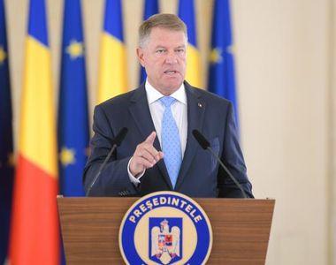 Klaus Iohannis: Acest guvern eşuat, acest guvern în derută trebuie să plece acasă