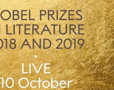 Academia Suedeză va anunţa la ora 14.00 laureaţii premiului Nobel pentru Literatură pe...