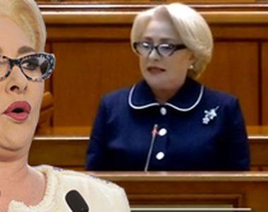 VIDEO | Viorica Dăncilă, dincolo de cuvinte: coafuri extravagante, broșe scumpe și o...