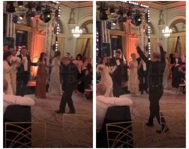 VIDEO | Imagini senzaționale cu Gigi Becali dansând la cununia fiicei lui