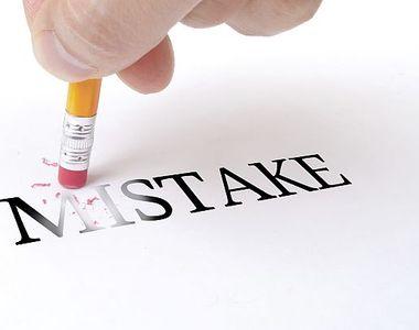 3 tipuri de greșeli de pariere. Modalități de a le evita