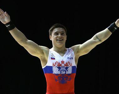 Gimnastul rus Nikita Nagornyy, campion mondial la individual-compus, la CM de la Stuttgart