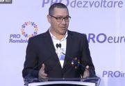 Ponta: Cine nu învaţă din greşeli le repetă - până când va dispărea din istorie! Pentru PSD timpul s-a întors în 2008, fac aceleaşi greşeli şi ticăloşii